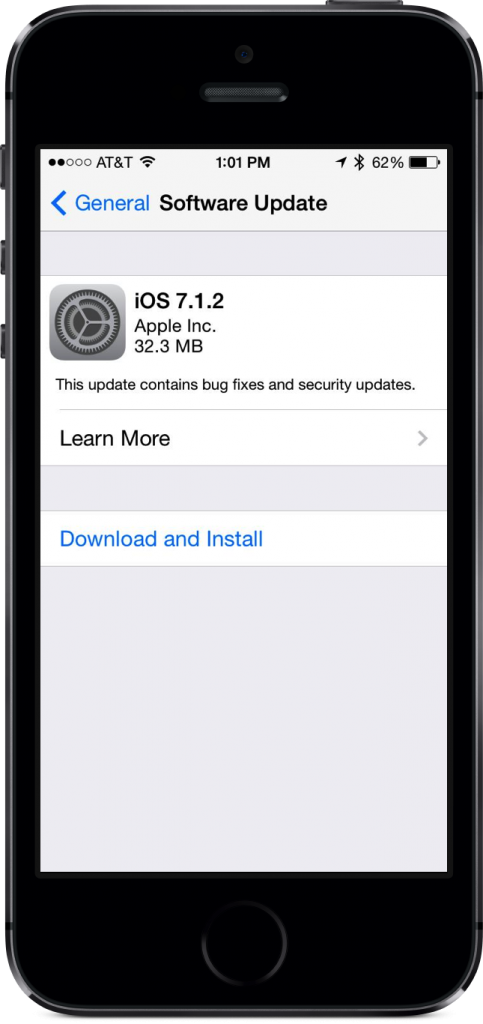Untethered iOS 7.1.2 Jailbreak with Pangu