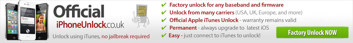 Official IMEI Unlock