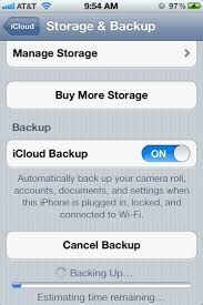 Back Up your iPhone using iCloud
