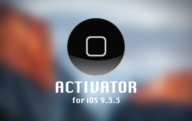 9.3.3 iOS Jailbreaking Issues-Activator