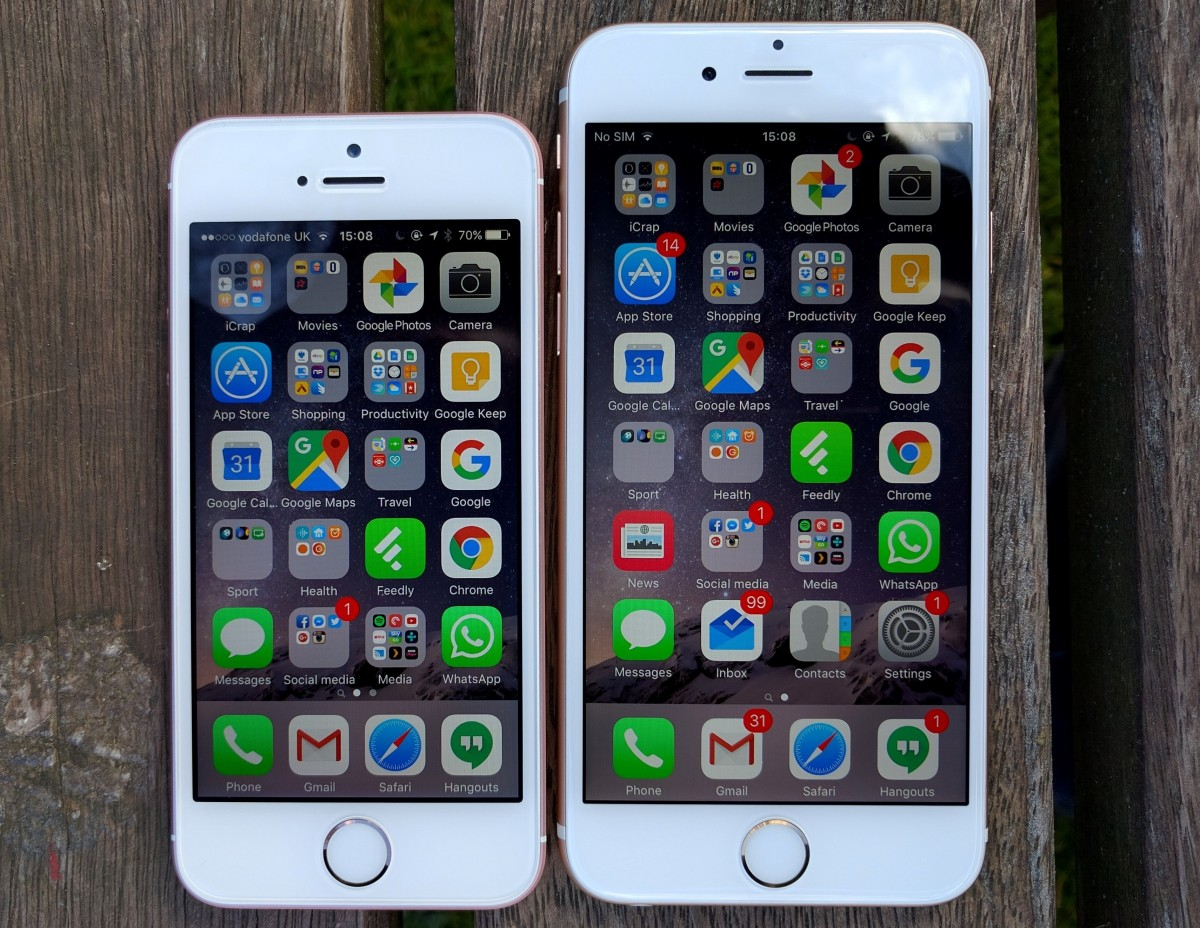 Spec Differences Between IPhone SE And 6s