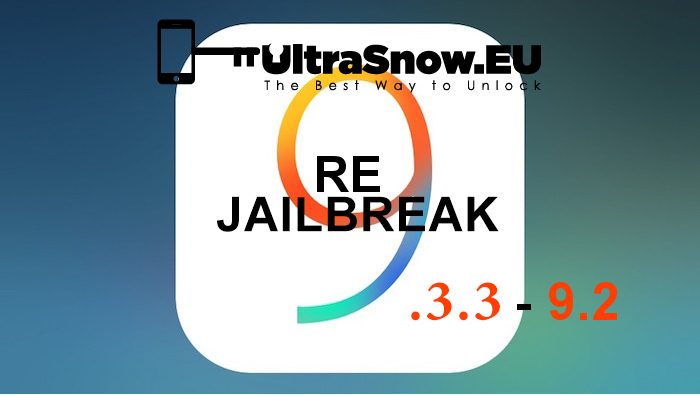 9.3.3 iOS English Jailbreak-ReJailbreak