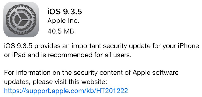Unlock iOS 9.3.5-download
