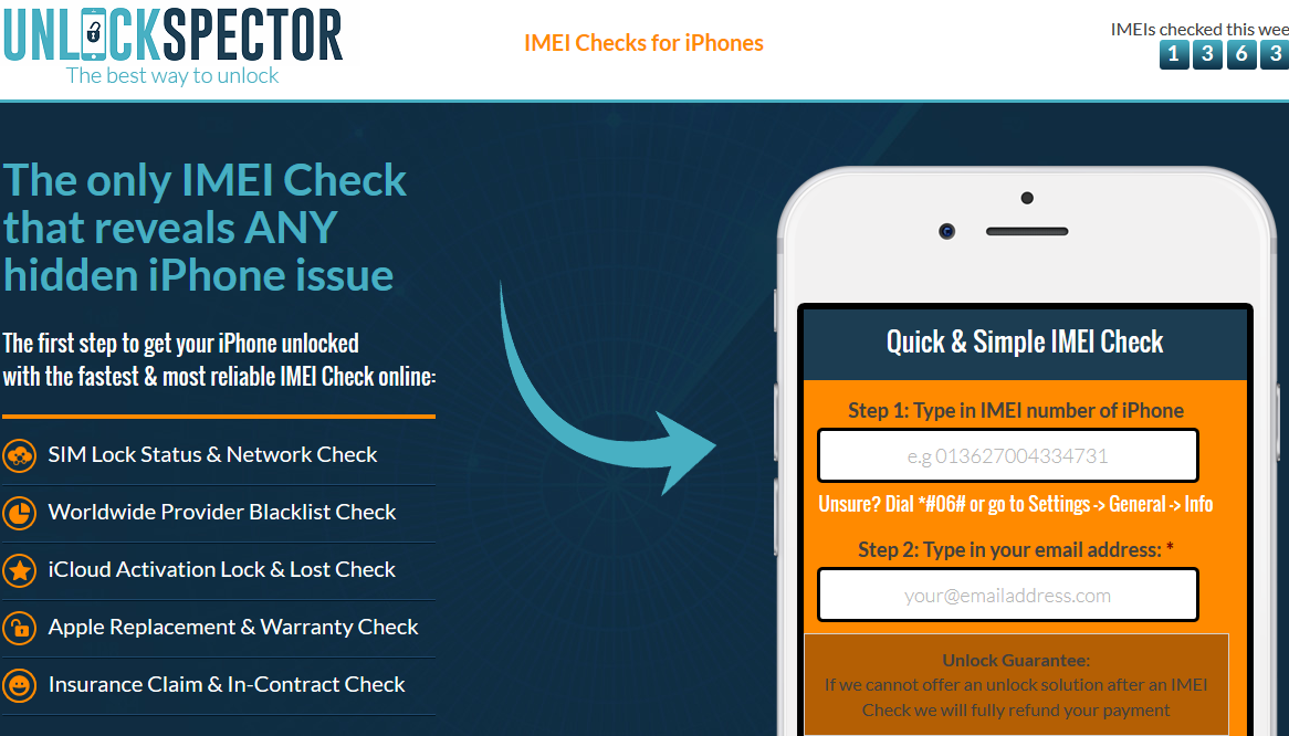 How to check if my imei is clean