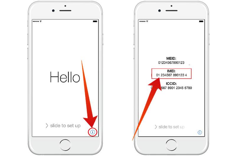Get iCloud Locked iPhone IMEI number