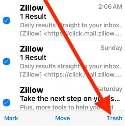 iOS 10 Hints-thrash-all-mail