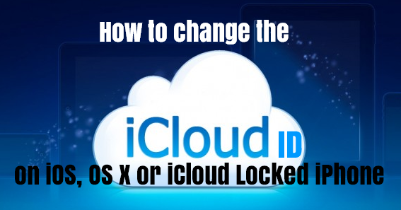 how to change my icloud on iphone