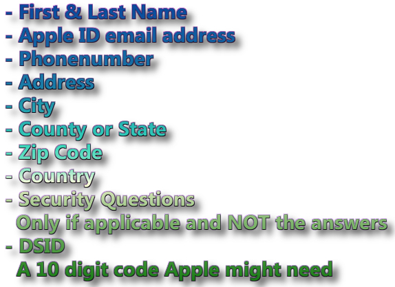 You won't get this kind of Apple ID info with any Unlock iCloud Software but only with an iCloud Contact Information Service