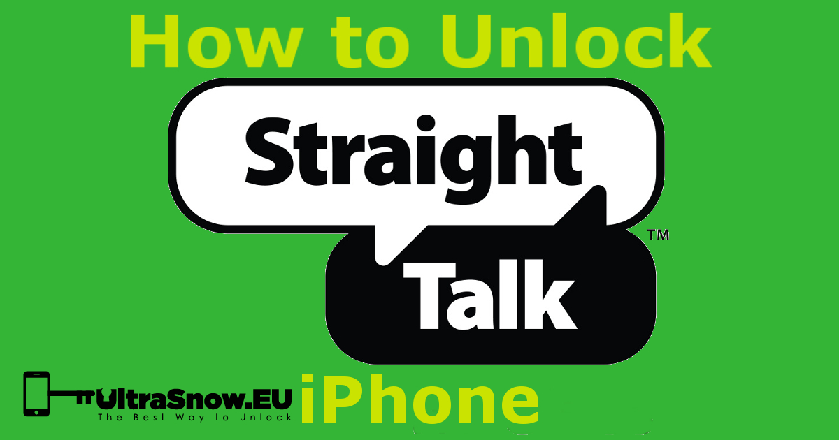 How to Unlock Straight Talk iPhone 6/7/8/SE/X/XS/XR