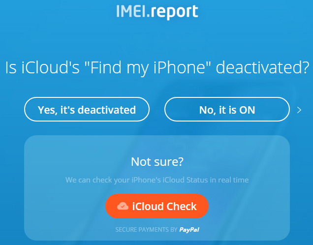 IMEI.Report Step 3