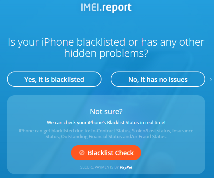 IMEI.Report Step 4