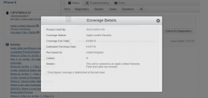 Apple GSX Coverage sample