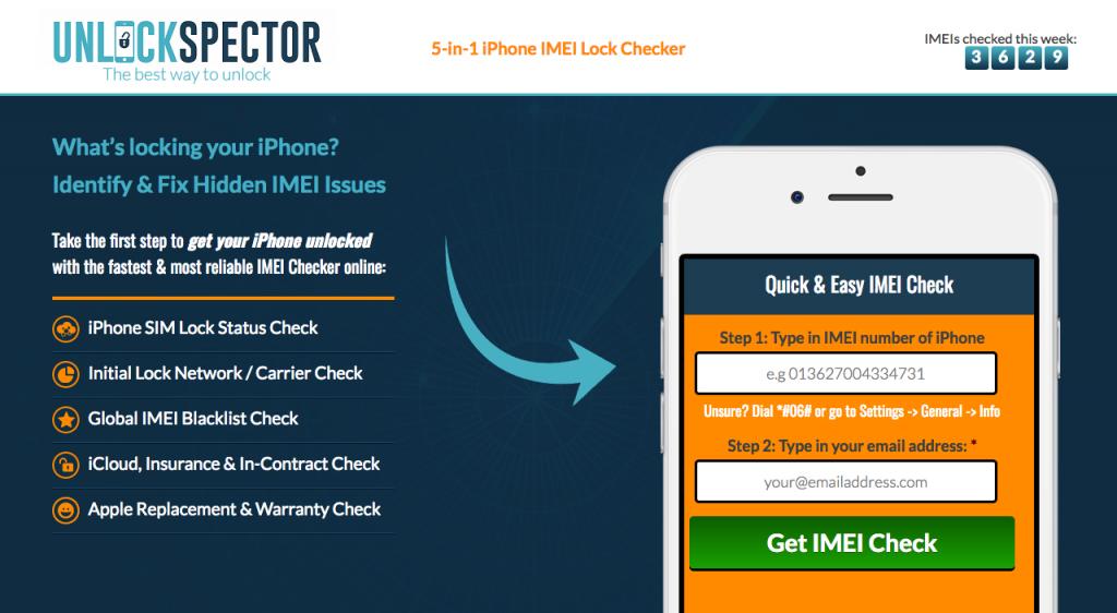 sell locked iPhone online after performing an IMEI check