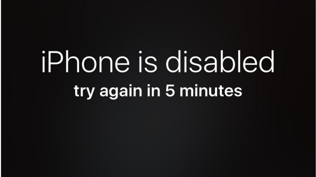 how to unlock a disabled iPhone - iPhone is disabled