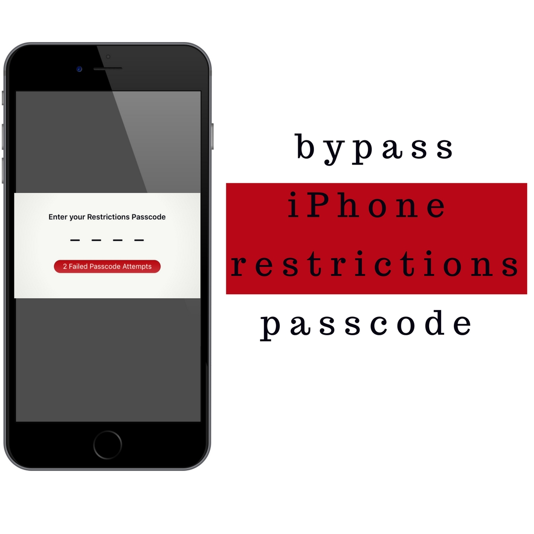 how to unlock iphone passcode how to bypass iphone restrictions passcode recover 6966