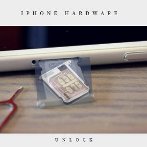 iPhone hardware unlock