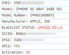 Unlock iPhone X - Financial IMEI Check