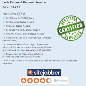 Unlock iPhone X - SIM-Lock Deactivation Request service