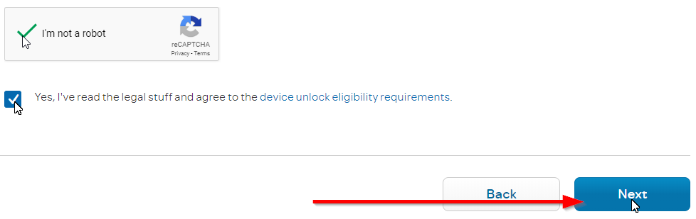 AT&T Unlock Request