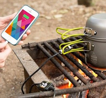 Campfire iPhone Emergency Charger