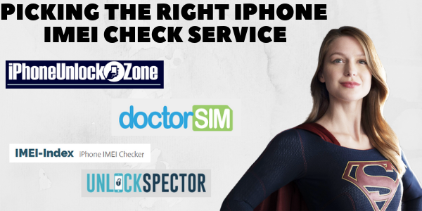 Getting the right iPhone IMEI Check service