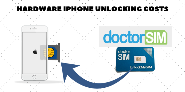 How much to unlock iPhone with DoctorSIM