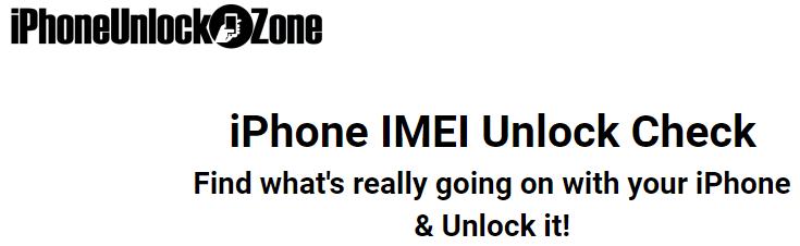 How to unlock iPhone with iPhoneUnlockZone