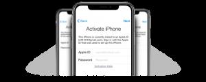 iCloud Status locked iPhone screen