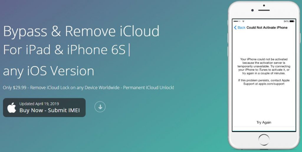 iCloud Remover 1.0 2 advertisement