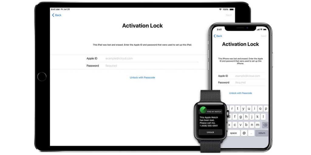 Apple Password Generator should bypass the Activation Lock Screen