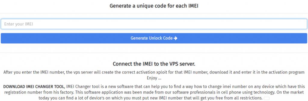 iCloud Generator-IMEI Changer