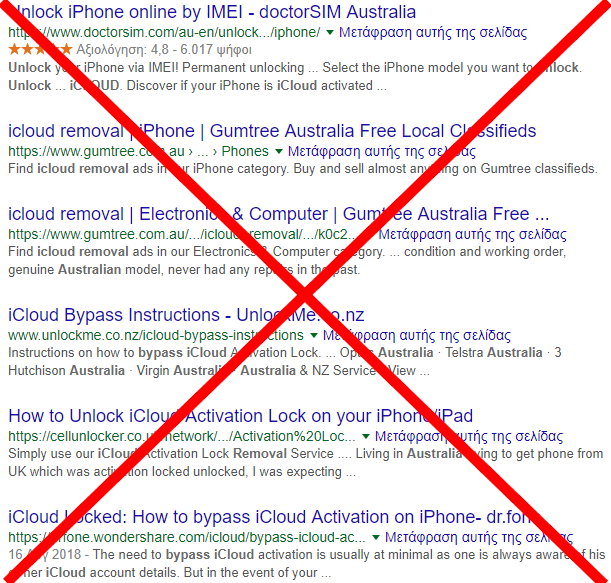 Australia iCloud Unlock Services