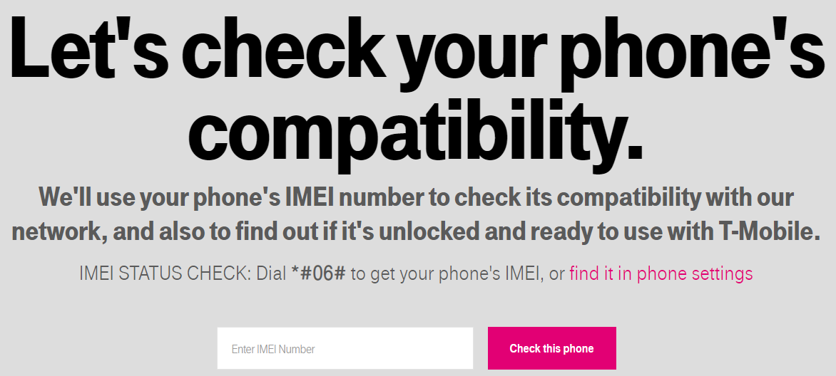 tmobile imei check