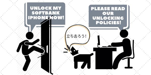 Unlock Softbank iPhone through Softbank Carrier