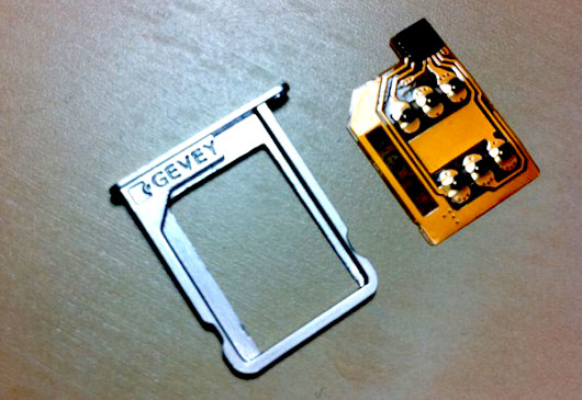iPhone Hardware Unlock Gevey