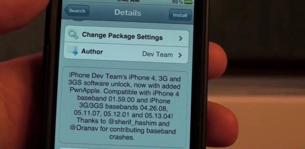 iPhone Unlock Software UltraSnow