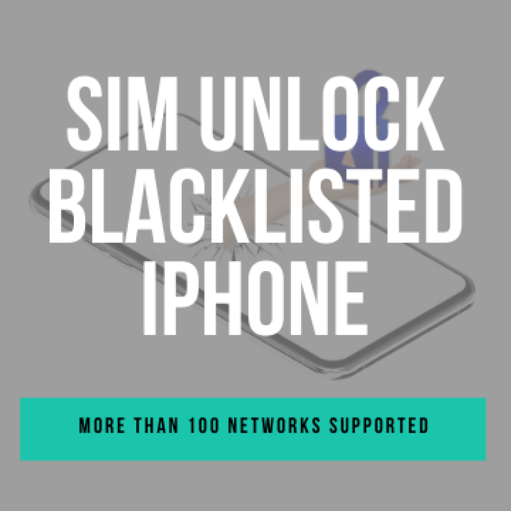 How to SIM Unlock Blacklisted iphone