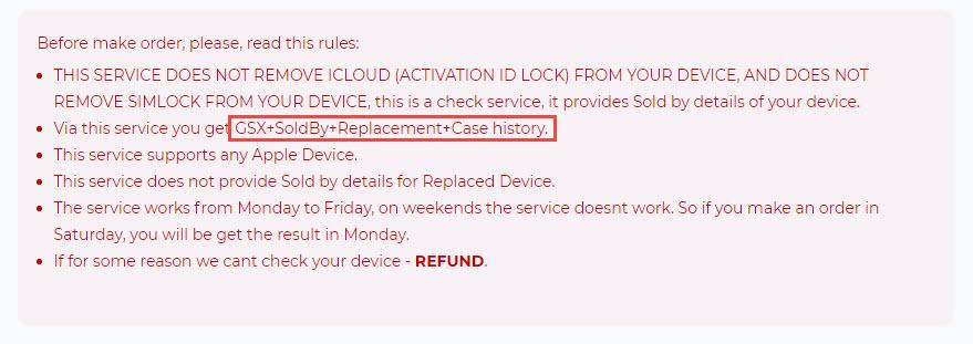 iUnlocker.net - Verified GSX access