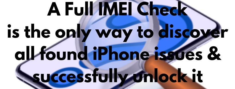 found iphone imei check