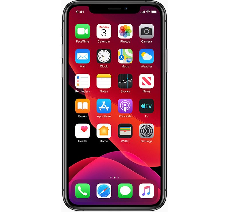 Check for iOS 13 default apps