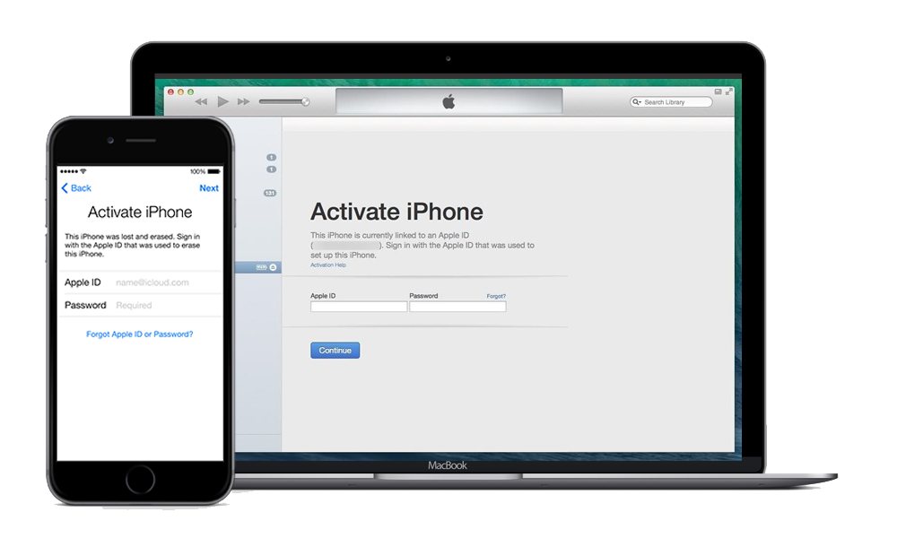 If you see the iCloud Activation Lock Screen then the iDevice is iCloud Locked