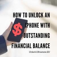 how to unlock iphone with unpaid balance